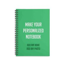 Personalized Notebook Hard cover A5 size Gift Stationery