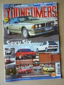 Youngtimers n°73, BMW E24 633CSI, Citroën Visa GTI, Ferrari Mondial 3.2, Lada Ni