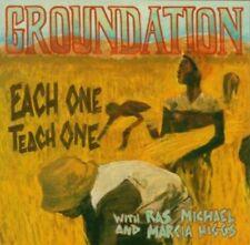 Groundation - Each One Teach One (with Ras Michael and Marcia Higgs) CD NEU OVP