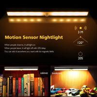 10 LED PIR Motion Sensor Wireless  Portable Closet Cabinet Night Light