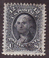 US Scott 69 old 12c Washington U/F  CV $100