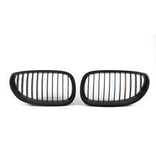 Grille For BMW E60 E61 M5 5 Series 03-09 Matte Black M-Color 535i GT Pair