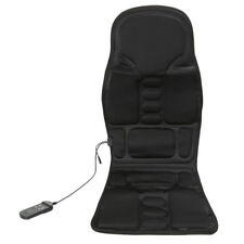 Massage Chair Mat Cushion Heat Body Back Shoulder Neck Shiatsu Home Office Car