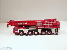"""Terex Demag AC200-1 Truck Crane - """"SCHOLPP"""" - 1/50 - NZG #514.02 - No Box"""