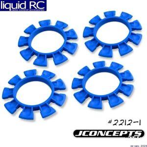 JConcepts 2212-1 Satellite Tires Gluing Rubber Bands Blue Compound (4)