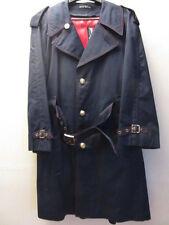 Vintage 1970s Harbor Master, Johnathan Logan dark blue overcoat John Weitz desig
