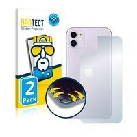 2x Full Cover Pellicola Protettiva Apple iPhone 11 (Posteriore) Curved Proteggi