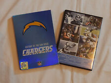 NFL HISTORY OF THE SAN DIEGO CHARGERS 2 DVD SET Alworth junior Seau Dan fouts nm