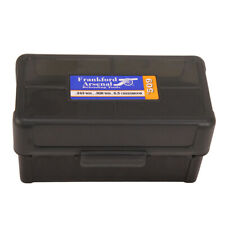 Frankford Arsenal 50 Round Gray Reloading Ammo Box 509 .243 .308 Win 22-250 Rem