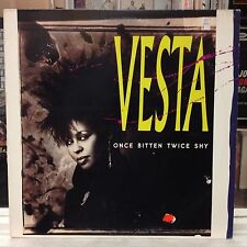 "NM 12""~VESTA WILLIAMS~Once Bitten Twice Shy~[Extended~6:01~Dub~3:41~Acapella~3:5"