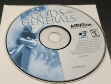 Gods And Generals 2003 Activision Game CD-ROM PC