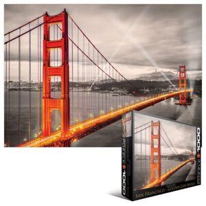 Golden Gate Bridge (San Francisco) 1000 piece jigsaw puzzle 680mm x 480mm (pz)
