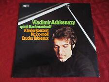 LP VLADIMIR ASHKENAZY Rachmaninoff Klavierkonzert nr 2 c moll Etudes Tableaux ST