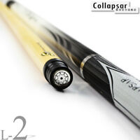 Collapsar L02 Billiard pool cues Sport Leather Stick Tiger Tip 13mm Radial Pin