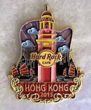 HARD ROCK CAFE HONG KONG LIMITED EDITION ORIGINAL ICON CITY SERIES PIN # 86932