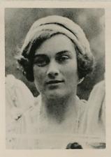 Alice Montagu-Douglas, fiancée du Duc de Gloucester Vintage silver Print Tirag