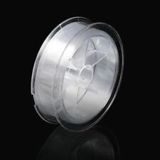 NEW 100M FISHING LINE WIRE STRING CLEAR - STRONG UK SELLER
