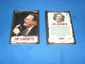 TNA Wrestling Trading Card 59 Jim Cornette BRAND NEW COLLECTABLE CARD. Tv Sports