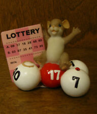 Charming Tails #4020532 TAKE A CHANCE YOU JUST MIGHT WIN, Enesco by Dean Griff