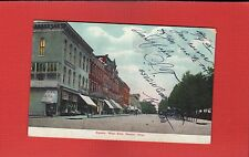 Kenton,OH Ohio, Square, West Side,horses and wagons,looks like dirt street