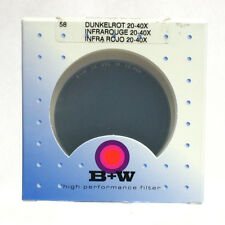 B+W 55mm #092 Dark Red Filter *NEW*