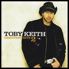 TOBY KEITH - GREATEST HITS 2 CD Album ~ COUNTRY / POP ~ WILLIE NELSON II *NEW*