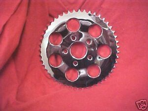 Harley,Sportster 82-90 new Chrome 51 T sprocket,this is a flat sprocket