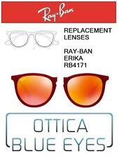 Lenti di Ricambio RAYBAN ERIKA RB4171 filtri Replacement Lenses Ray Ban RED 6Q