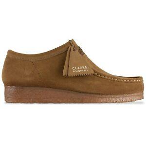 Clarks Originals - New Wallabee Shoes - Cola Suede - 26155518