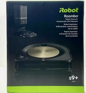 NEW iRobot Roomba s9+ (9550) Robot Vacuum with Automatic Dirt Disposal