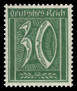 Germany Deutsches Reich 1921/22 Mi. Nr. 181 30 Pf. Large Number Definitive MH