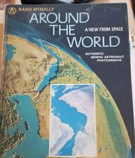 Around the World: A View from Space by Rand McNally (1968, Hardcover) #sa