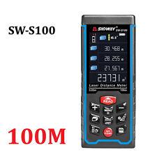 100m 328ft Laser Distance Meter LCD Rangefinder Trena Laser Tape Diastimeter