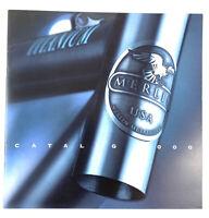 Merlin Titanium Bicycle Catalog Year 2000 Road / MTB