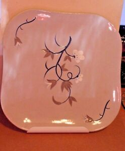 VINTAGE FANTASIA DINNER PLATE HAND DECORATED WEIL WARE MADE IN CALIFORNIA EUC