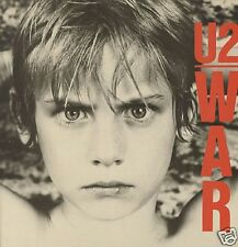 U2 War  1983 EXCELLENT CONDITION VINYL LP ILPS9733