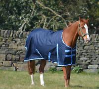 Waterproof 600d Lightweight Rainsheet Pony Mini Shetland Turnout Rug 0g Fill
