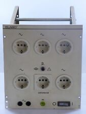 ELABO 33-0D Laboreinschub AC Trenntrafo Laborsteckdosen Trenntransformator 230V