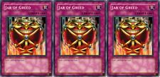 Jar of Greed SD3-EN029 1st X 3  Mint YUGIOH Cards Common