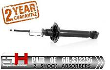 2 REAR GAS SHOCK ABSORBERS FOR NISSAN ALMERA N16 01.2000-05.2007 ///GH 332236///