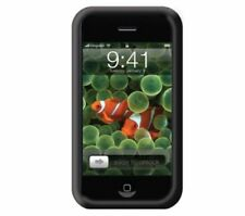 Belkin Silicone Sleeve Fits Apple iPhone 3GS F8Z354EA Black