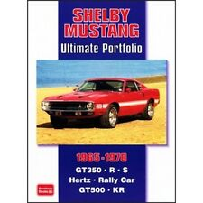 Shelby Mustang Ultimate Portfolio 1965-1970 book paper