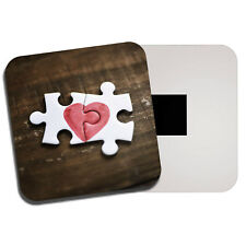 Jigsaw Puzzle Love Heart Fridge Magnet - Wife Girlfriend Valentines Gift #8772