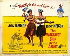 WACKIEST SHIP IN THE ARMY Movie POSTER 11x14 B Jack Lemmon Ricky Nelson Chips