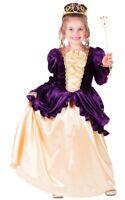 Dress Up America Girls Kids Purple Belle Ball Gown