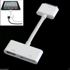 Câbles et adaptateurs AV blancs pour tablette