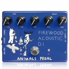 Animals Pedal Firewood Acoustic D.I. Guitar Pedal Effect NEW FREE SHIPPING