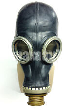 Soviet russian Black rubber gas mask GP-5 1 SMALL
