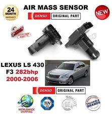 FOR LEXUS LS 430 F3 282bhp 2000-2006 DENSO AIR MASS SENSOR 5 PIN w/o HOUSING