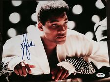 WILL SMITH SIGNED AUTOGRAPH ALI CLASSIC CHAMP POSE 11x14 PHOTO PSA/DNA Z56668